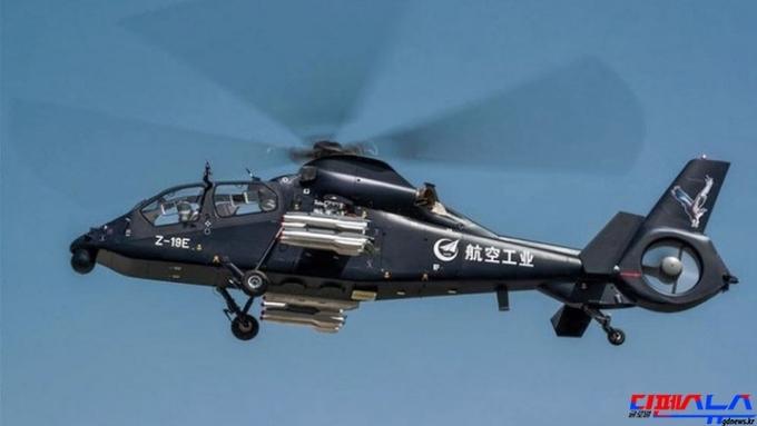 중 HAIG사, Z-19E 수출형 공격헬기 첫 비행