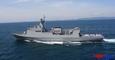 3천 톤급 최신 기뢰부설함 '남포함' 해군 인도