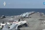 한미 연합해상훈련에 돌입한 로널드레이건함(CVN-76)