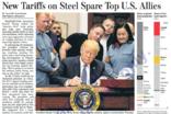 미, 새 철강 관세 부과대상에서 주요 동맹국들 제외