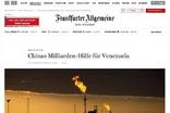 중국, 베네수엘라 원유산업에 수십억 달러 재정지원
