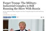 트럼프, 러시아와의 군•산 복합체 게임은 계속 진행 중