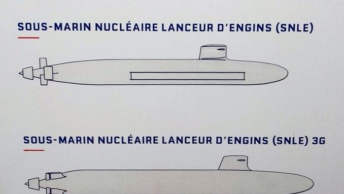 프,차세대 핵추진 탄도미사일 잠수함 이미지 최초 공개