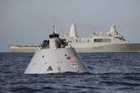 미 해군, 함정 이용한 NASA의 우주선 회수 훈련 실시