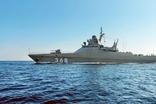 러 해군, 프로젝트 22160' 바실리 비코프함' 시운전
