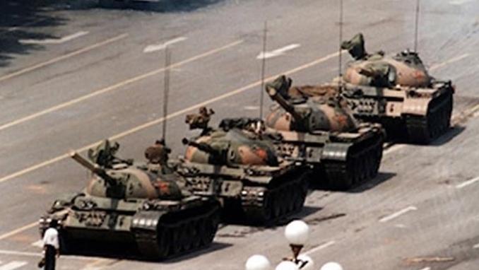 천안문 자유와 민주의 외침 30돌을 기리며.