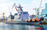 현대중공업, 필리핀 해군 호위함 '안토니오 루나함' 진수