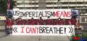 반미시위 주도하는 남한 공산주의 정당 '민중민주당'