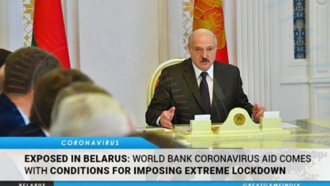 코로나 원조 대가로 국가 전면 봉쇄 요구한 세계은행