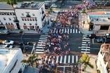 미국 비버리힐즈, 트럼프 당선 기원 축제 열려