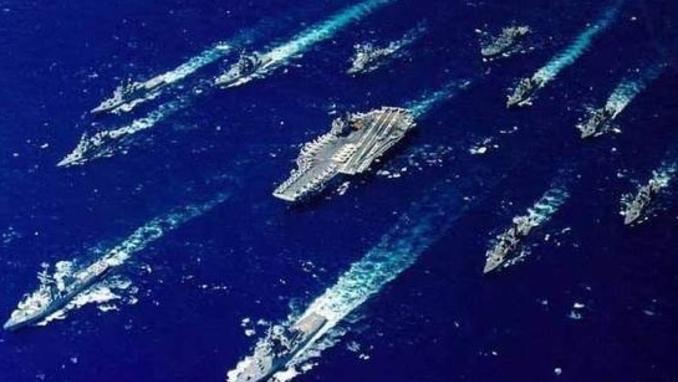 노골화 되는 중국의 침략야욕, 10만톤급 항모전단으로 맞대응해야