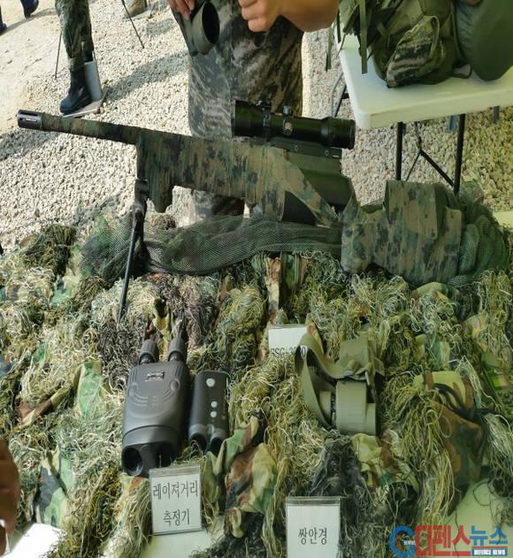 해병대 저격수가 사용하는 저격장비들