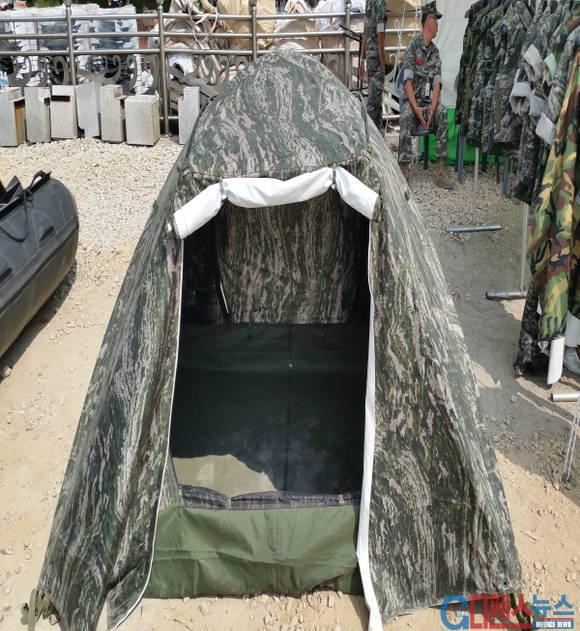 해병대 텐트